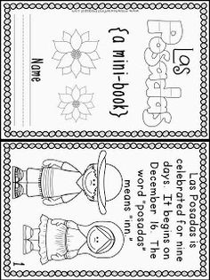 Wheeler's First Grade Tidbits: Holidays Around the World and Freebies! Spanish Activities, Christmas Activities, Classroom Activities, Kindergarten Christmas, Christmas Worksheets, Vocabulary Activities, December Holidays, School Holidays, Winter Holidays