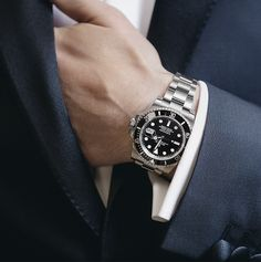 A Rolex Submariner Date and a fine dinner jacket. Two timeless sartorial choices for a gentleman to enjoy .