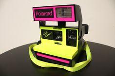 rare polaroid camera; so retro, so cool.