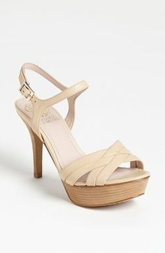 Summer is a time for neutral strappy heels! Vince Camuto 'Paden' Sandal | Nordstrom