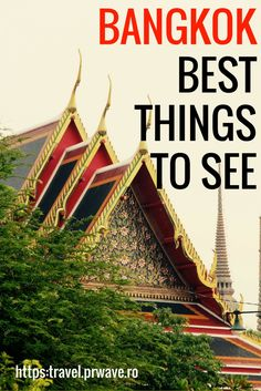 Here is the top 10 things to do in Bangkok - for a first time visit or in order to discover Thailand's capital. A Bangkok travel guide to plan your trip! Bangkok Travel Guide, Thailand Travel Tips, Bangkok Thailand, Thailand Vacation, Backpacking Thailand, Visit Thailand, Croatia Travel, Travel Blog, Travel Tips