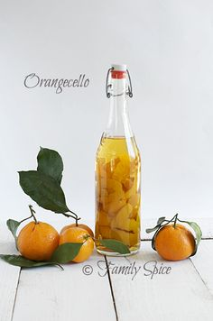 Orangecello    Orange Infused Vodka