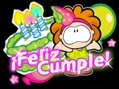 Animated Gif by raychen-rodriguez Happy Birthday Ecard, Birthday Cards, Renz, Holidays And Events, Quinceanera, Animated Gif, Bowser, Merry, Animation