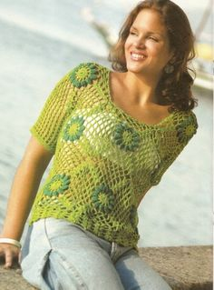 Free pattern- not english but with schedule (and lots of other cool crocheting stuff)
