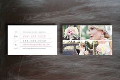 photographer business cards | photoshop templates by bittersweet design boutique