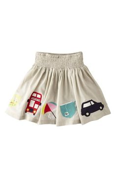 Mini Boden 'Decorative' Cotton Voile Skirt (Toddler Girls, Little Girls & Big Girls) | Nordstrom
