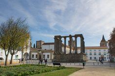 Templo Romano ou Templo de Diana em Évora