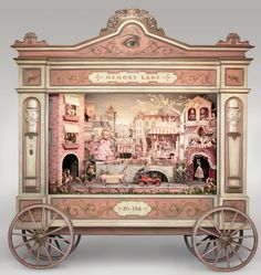 Marion Peck  and Mark Ryden, Memory Lane, 2013 An automaton diorama