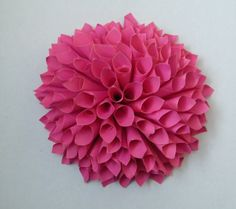 dhalia, papier Ice Tray, Dahlia, Silicone Molds, Diy, Ideas, Paper, Bricolage, Dahlia Flower, Dahlias
