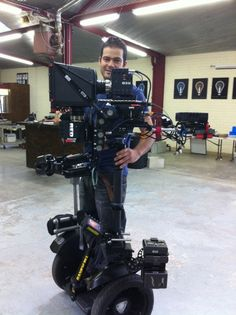 Neato!  BX4-Steadicam-and-on-Segway-_39881
