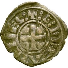 49,00€ Ateena 1280-1287 William de la Roche Dinaari HOPEA