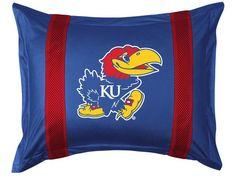 Kansas Jayhawks Pillow Sham