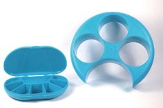 Meal Measure 1 Portion Control Tool Color Blue with Matching Blue Travel Size Vita Carry 8 Compartment Pill Box (8.98 Value) by MealMeasure/GMS. $11.50. Each cavity is one cup at the top with one -half cup line inside. Measures your food right on the plate. Fits most dinner plates. Cavities are labeled vegetable or fruit, starch and protein. Protein portion is equal to the size of the deck of cards. Portion Control on Your Own Plate  can help you lose weight and live ...