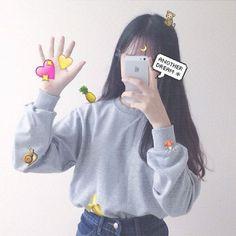 57 Ideas For Fashion Korean Casual Ulzzang Mode Ulzzang, Ulzzang Korean Girl, Cute Korean Girl, Asian Girl, Aesthetic Women, Aesthetic Girl, Ulzzang Fashion, Korean Fashion, Korean Casual