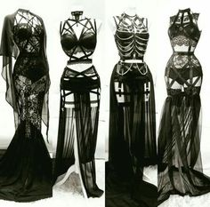 I could never wear these and like the way I look but DAMN.                                                                                                                                                                                 More #GothicFashion