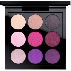 MAC Eye Shadow x 9 Pink Palette, Fashion Pack Collection found on Polyvore featuring beauty products, makeup, eye makeup, eyeshadow, runway worthy, mac cosmetics, palette eyeshadow and mac cosmetics eyeshadow
