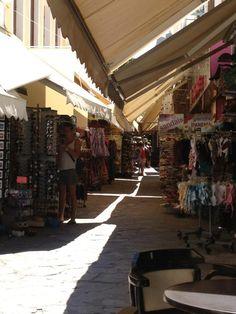 Shopping in Kos Town Kos Greece