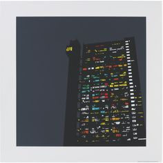 Trellick Tower 60 X 60cm Print By Jayson Lilley (3,505 PHP) ❤ liked on Polyvore featuring home, home decor, wall art, elephant grey, urban wall art, paper wall art, urban home decor, landscape painting and seaside home decor