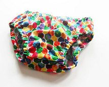 The Very Hungry Caterpillar  Toddlers Baby diaper cover , nappy cover.Baby clothing, bloomers.kids clothes