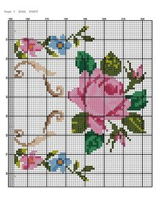 Embroidery Stitches Tutorial, Wool Embroidery, Cross Stitch Embroidery, Hobbies And Crafts, Diy And Crafts, Clay Jar, Cross Stitch Rose, Cross Stitching, Needlepoint