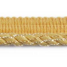 Conso Twisted Lip Cord Trim - Yard - Yellow | eBay