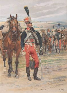 Military Weapons, Military Art, Edouard Detaille, French Army, Napoleonic Wars, American Revolution, Horse Art, Empire, Dragon