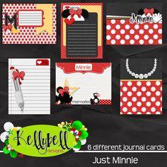 Just Minnie Journal Cards