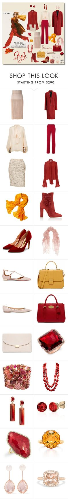 """""""fall leafs"""" by sensual-spirit ❤ liked on Polyvore featuring Givenchy, Joseph, Chloé, ADAM, Nellie Partow, Reed Krakoff, Gianvito Rossi, Rupert Sanderson, Valentino and Aquazzura"""
