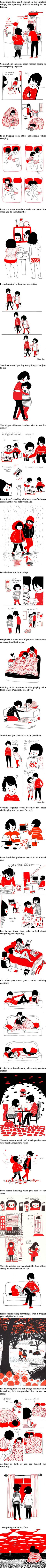 Heartwarming Illustrations Show That Love Is In The Small Things (Artwork by Philippa Rice)