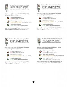 Stop Study Start tags for Conference copy