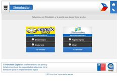 """Plataforma virtual """"Chile País Emprendedor"""" - Simulador de transacciones comerciales electrónicas creado por Cumbre Group, donde los usuarios pueden simular procesos de oferta, compra y venta por internet. -SERCOTEC"""