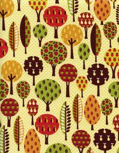 Timeless Treasures - Tree Fabric by Alice Kennedy