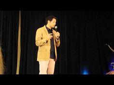 Torcon 2014 - Misha buys Jared a glass dildo - YouTube