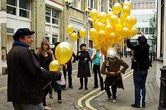 The Soho Stag Hunt, played as the finale of the Soho Project ARG, 2007.