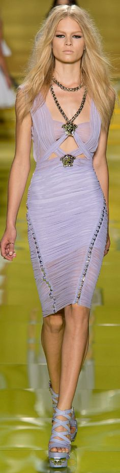Versace. A lil bit of R&R Chic Summer 2014 Repinned by www.fashion.net