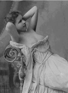 Victorian prostitute.