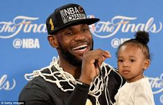 If there is one thing more important to newly-crowned NBA champion Lebron James than bringing historic titles to his beloved Cleveland Cavaliers, it's his family