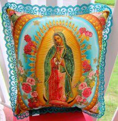 Virgen de Guadalupe Pillow...