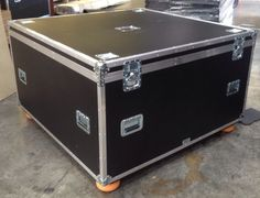 Large Flight Case Transport Case Light Weight, Storage Trunk Box