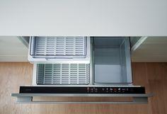Fisher & Paykel Izona 123L Drawer Refrigerator Fisher, Refrigerator, Drawers, Kitchen Appliances, Design, Island, Set Of Drawers, Diy Kitchen Appliances, Home Appliances