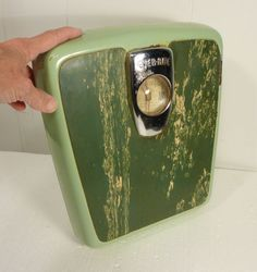 Mint Green Vintage Bathroom Scale Ever Rite By Brearley Co