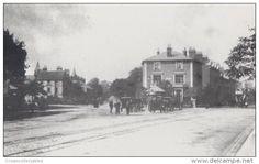 Chapel Ash Wolverhampton Library in 1899 Victorian View Postcard
