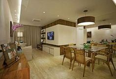 Belo apartamento! Possui estilo e ótimo aproveitamento de espaços!