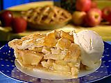 Paula Deen's apple pie filling.  Perfect for that cinnamon roll crust!