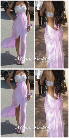 7d35a3114d7 Unique Strapless Open Back Front Split Slim Line Homecoming Dresses Cheap Cocktail  Dresses  homecomingdresses
