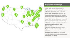 See how screenings of the Honor Flight movie are having an impact across the country. @Tugg Inc.