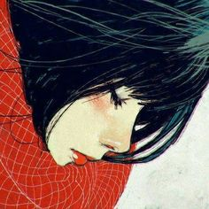 Kai Fine Art is an art website, shows painting and illustration works all over the world. Art Inspo, Inspiration Art, Art And Illustration, Kuvshinov Ilya, Art Watercolor, Watercolor Portraits, Arte Sketchbook, Image Manga, Winter Art