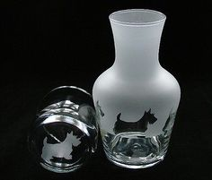 Scottish-Terrier-dog-Carafe-with-matching-engraved-glass