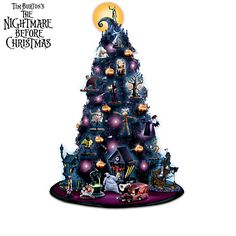 This Is Halloween Tabletop Tree Collection This Is Halloween Tabletop Tree Collection You're among the first to see this brand-new item from The Bradford Exchange Online. Quantities are limited, so hurry to reserve yours today! From Hawthorne Village  Price: $59.99
