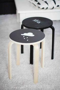 4 Hacks con el taburete Frosta de Ikea: proyectos caseros, ideas para convertir el taburete Frosta de Ikea en una pieza especial y exclusiva.